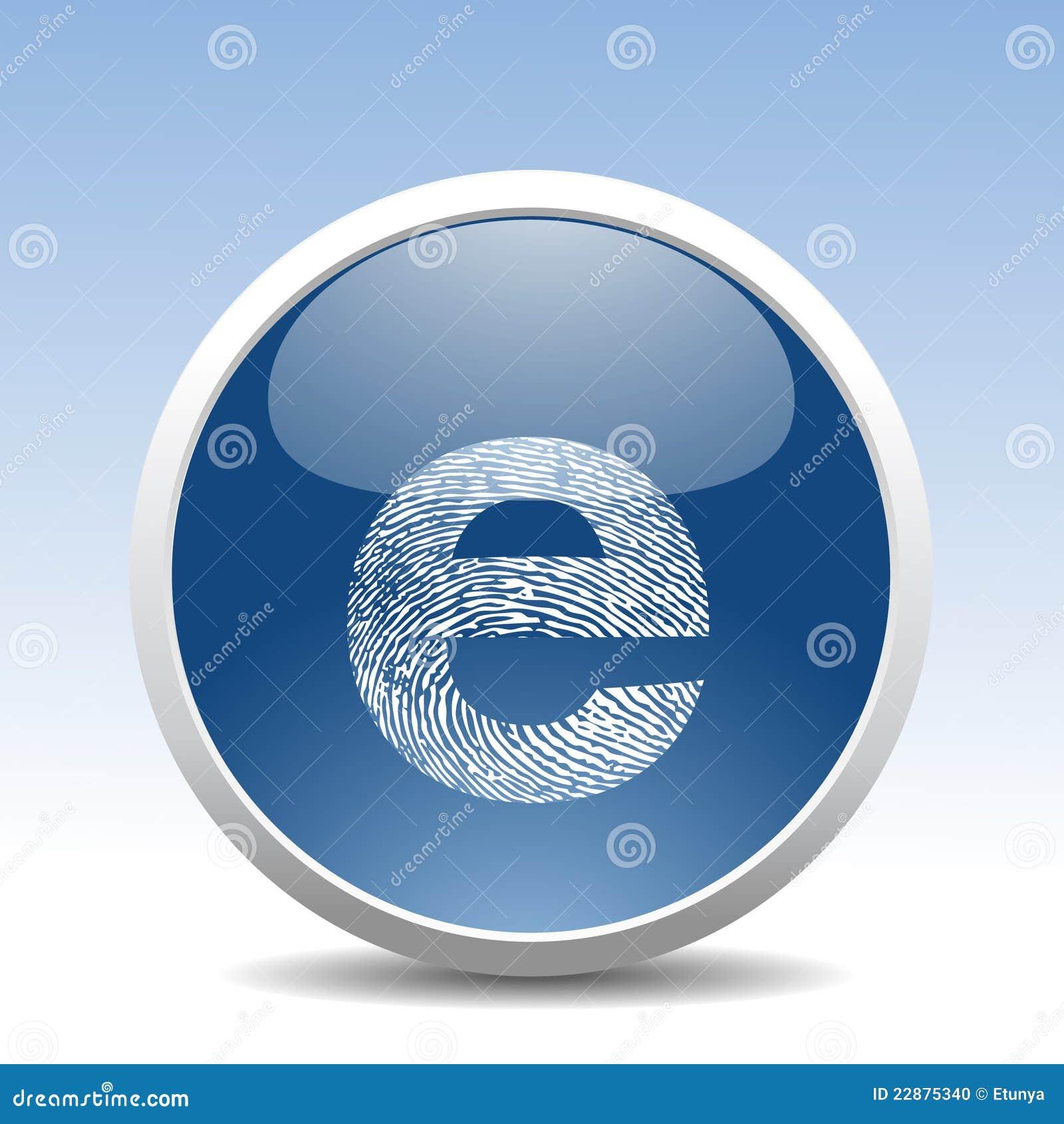 Botón moderno del Web