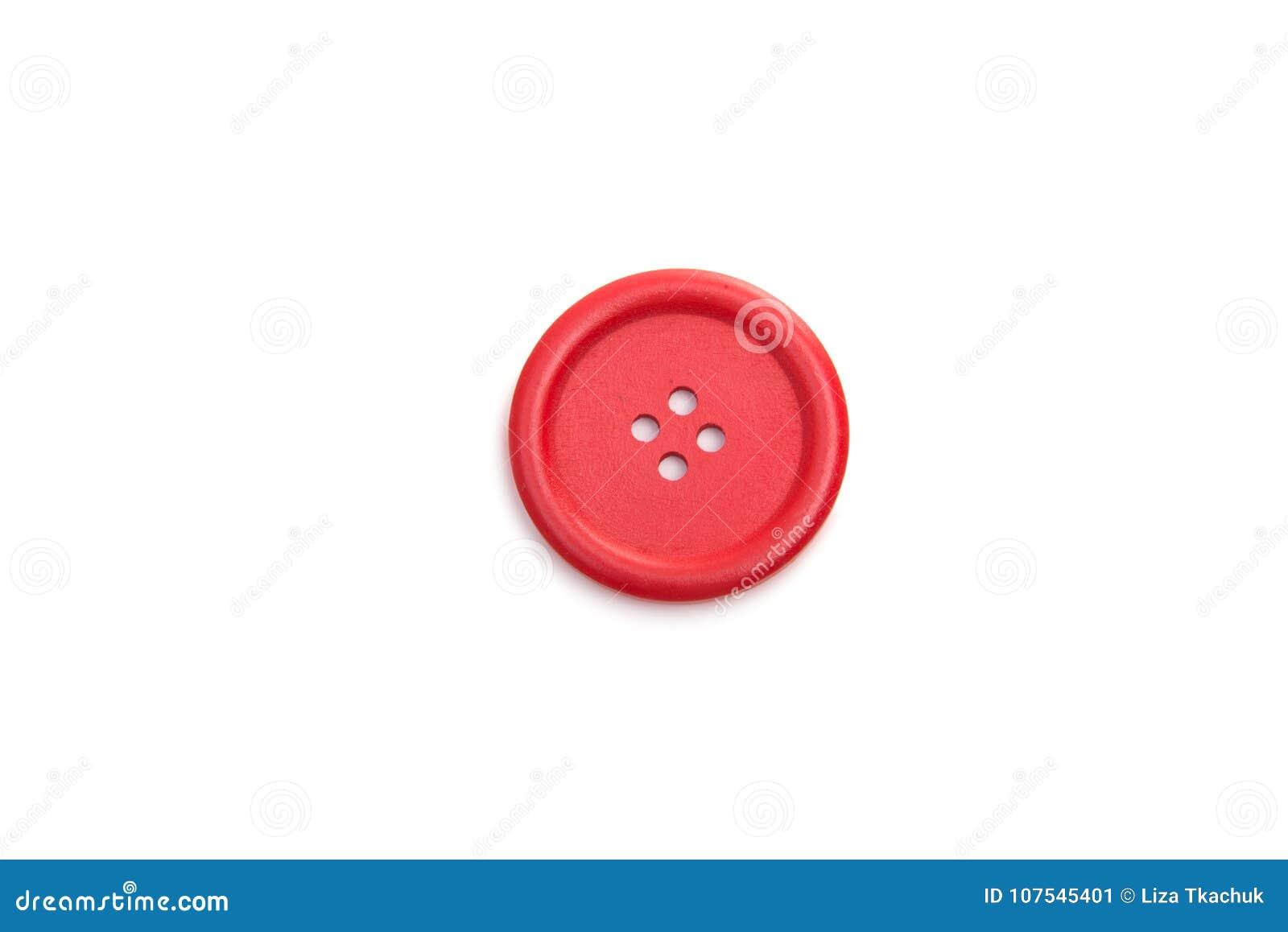 Botón para clothmaking aislado