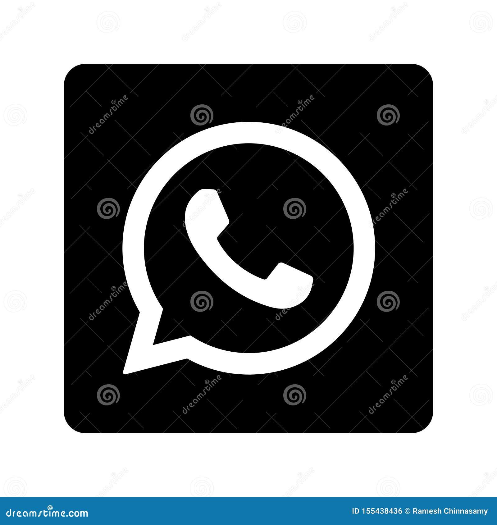 Botón social del icono de los medios de Whatsapp