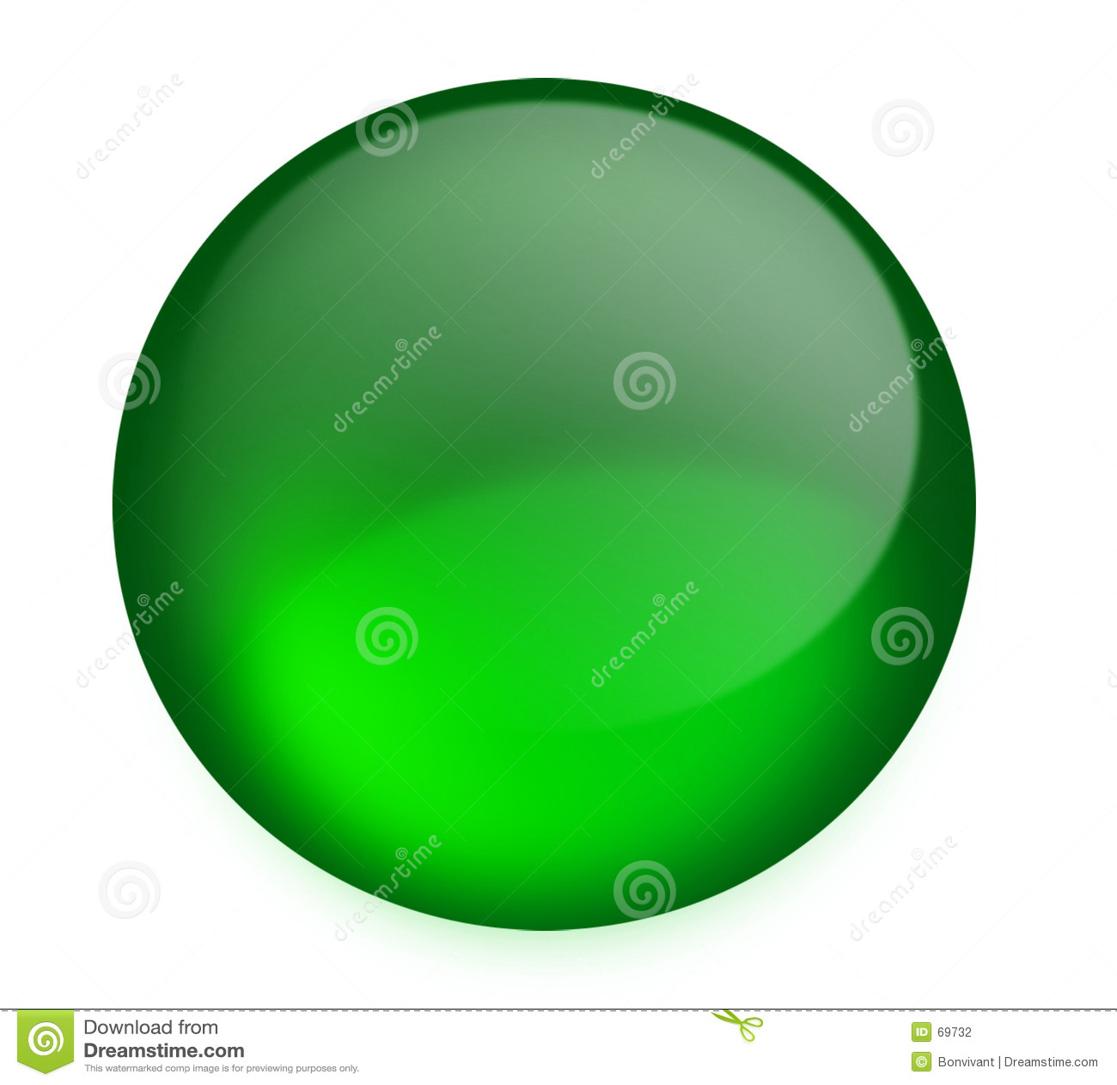 Botón verde