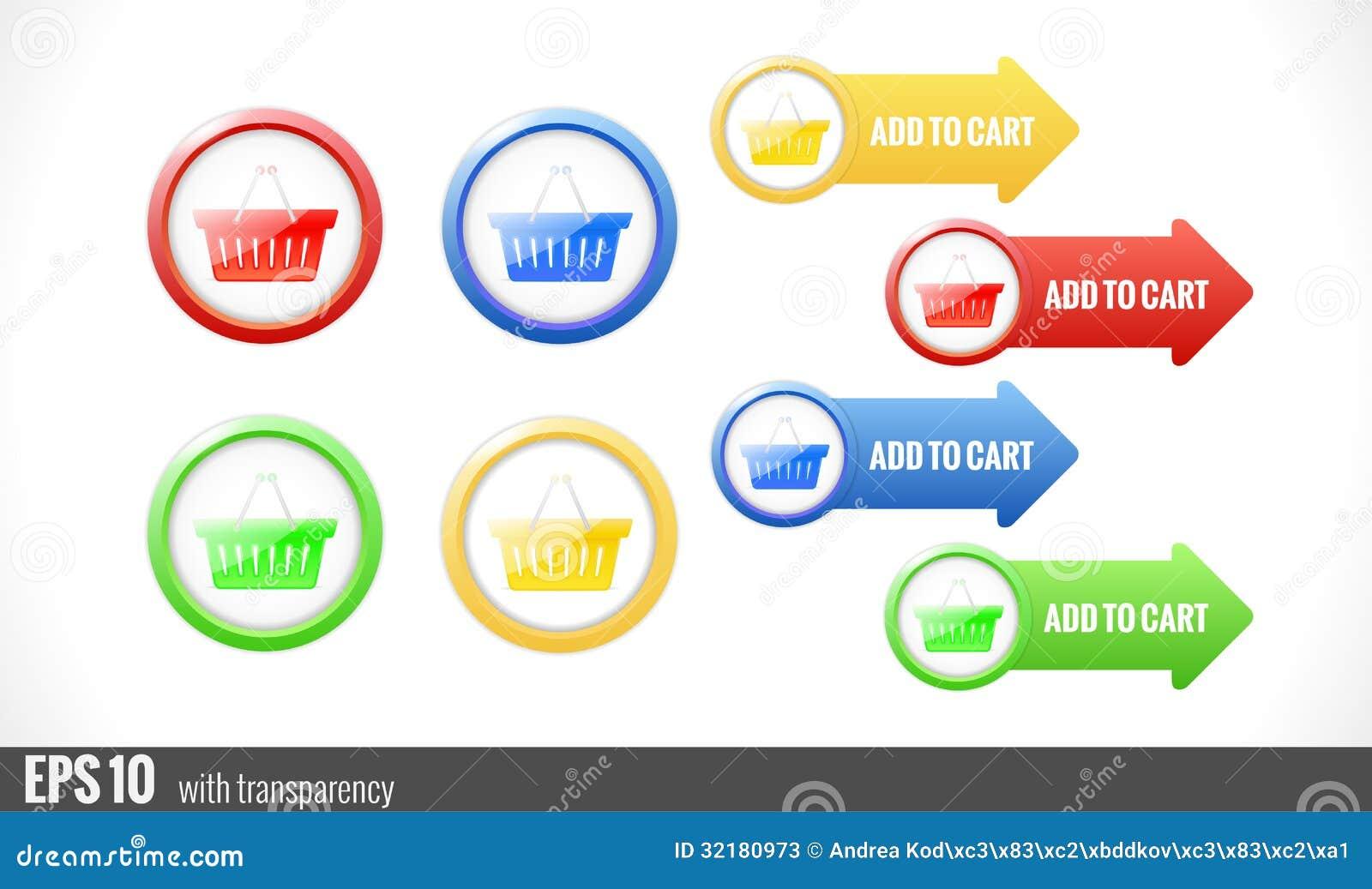 Bot es do carrinho de compras para o web site fotos de - Central de compras web ...