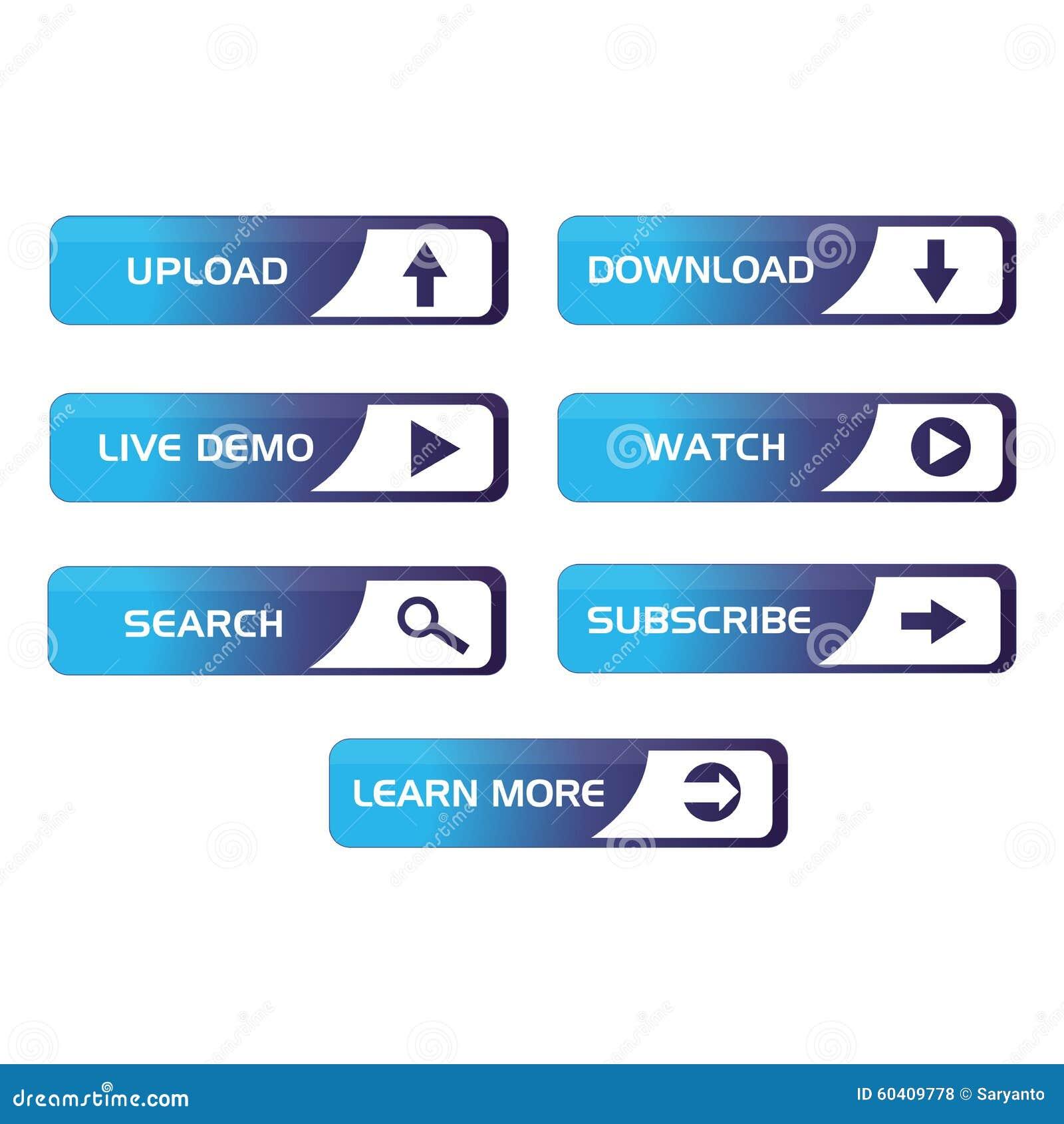 Botões para a Web 2
