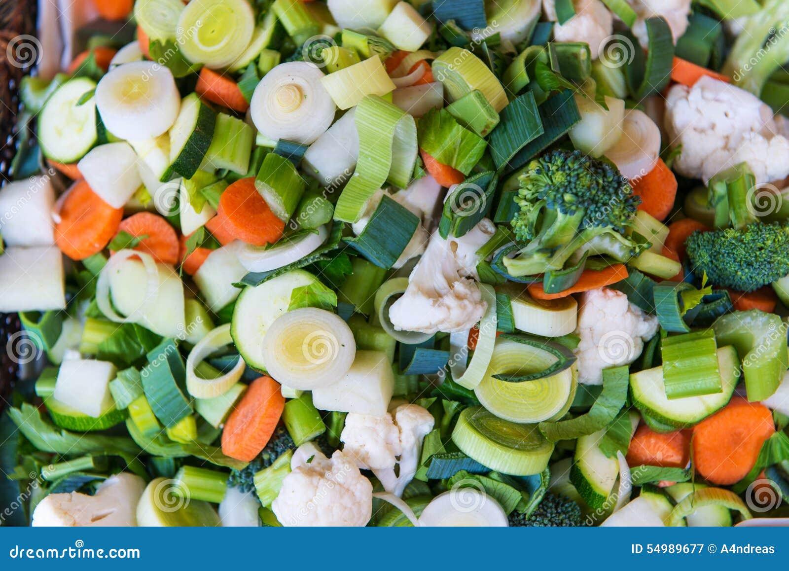 Bot skivad ny grönsak