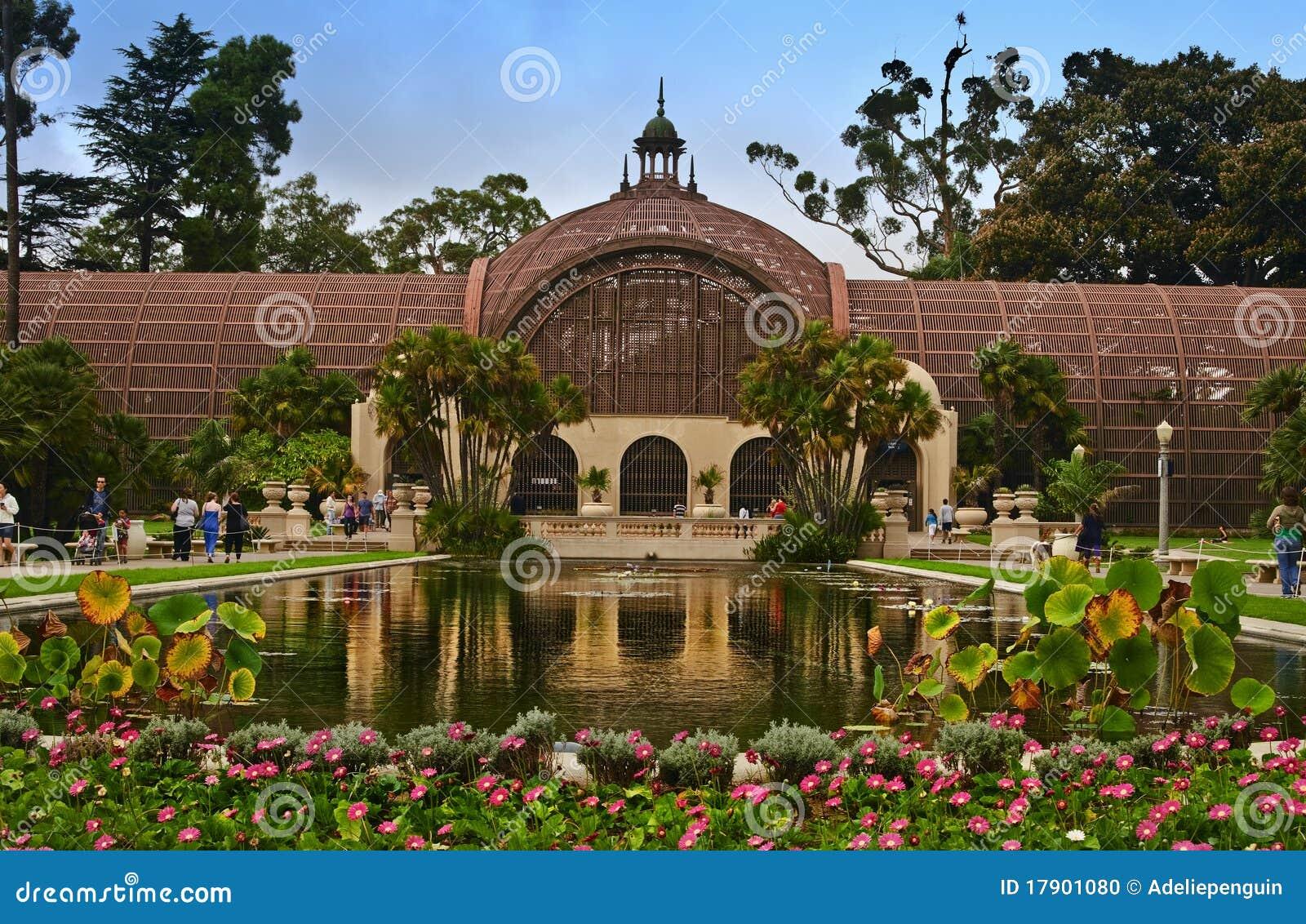 Botanical Building Balboa Park Editorial Image Image
