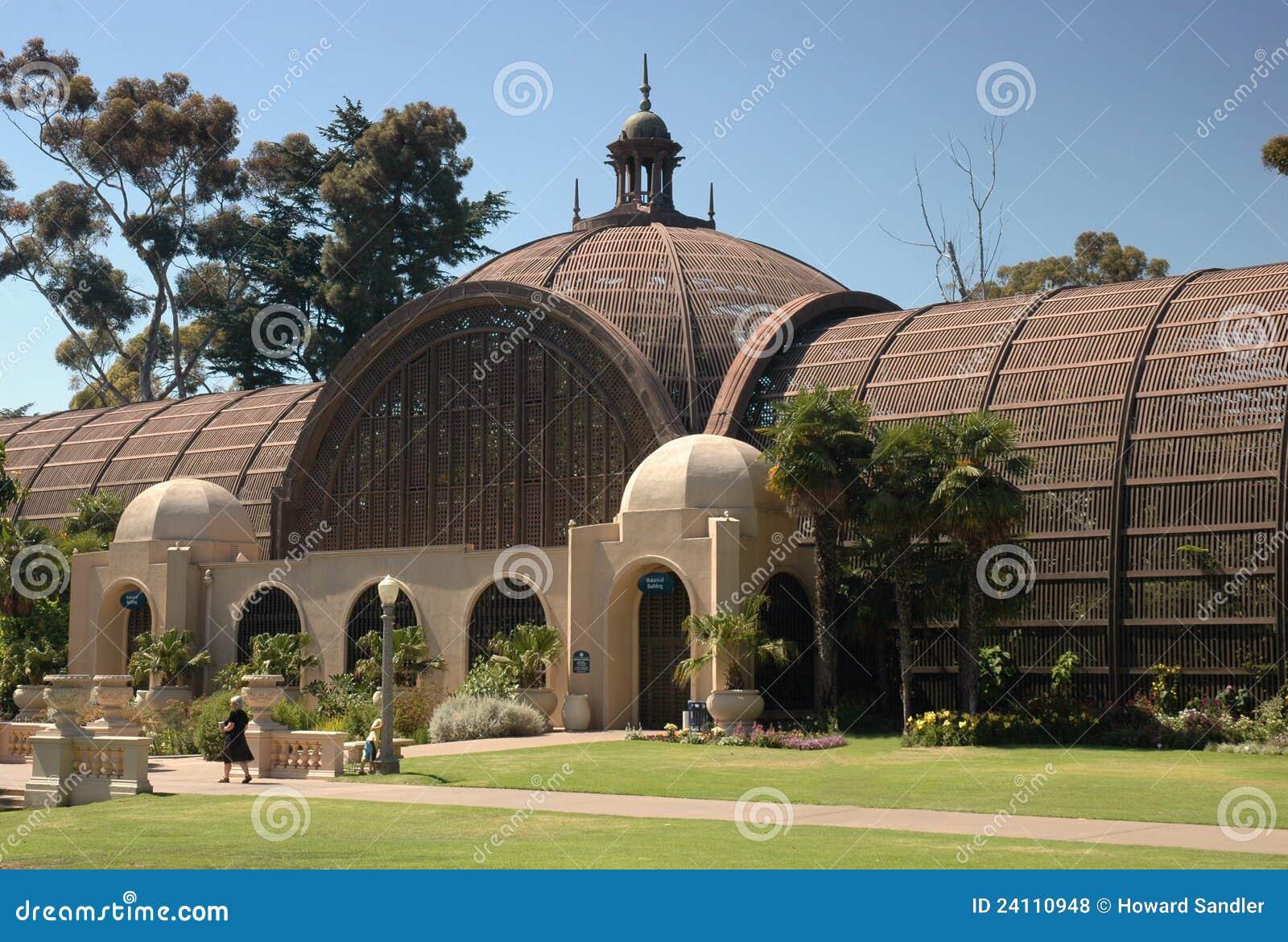 Botanical Building Balboa Park San Diego Stock Photo