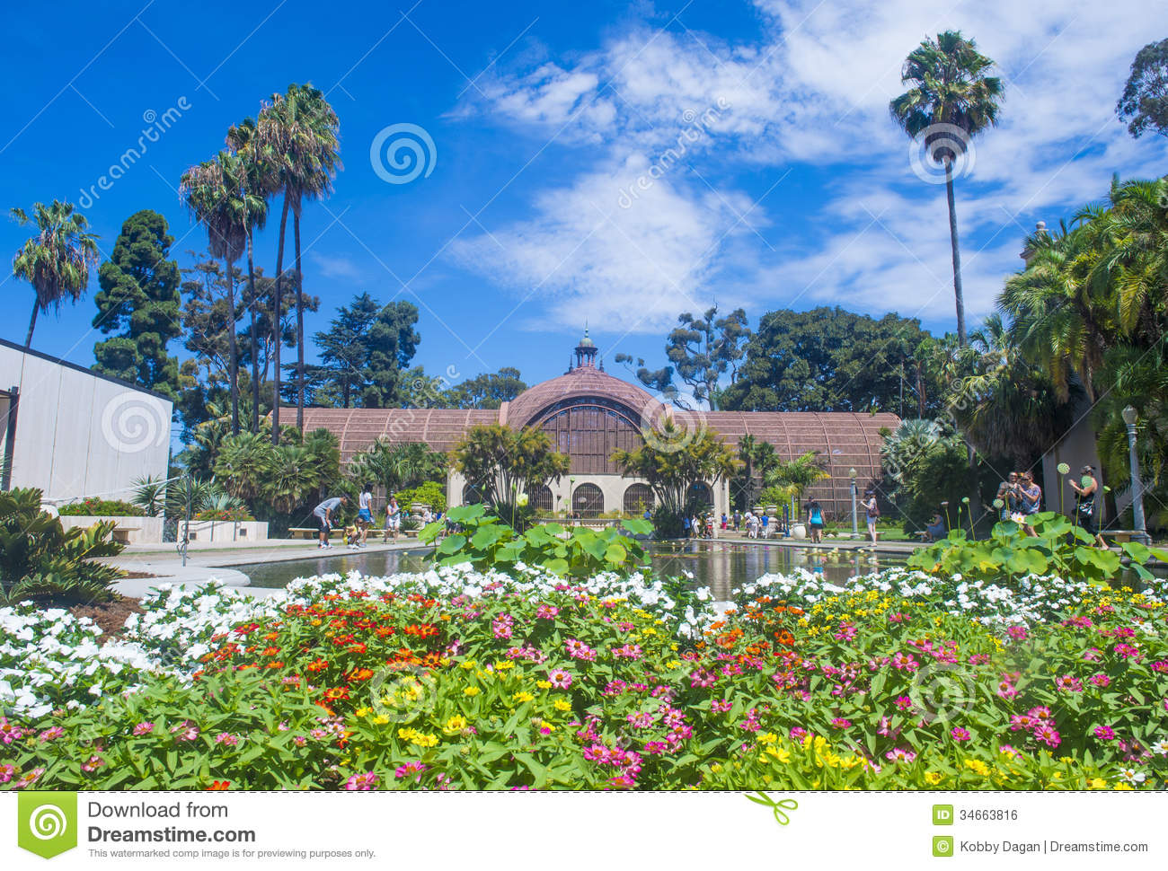 The Botanical Building In San Diego S Balboa Park Editorial Photo Image 34663816