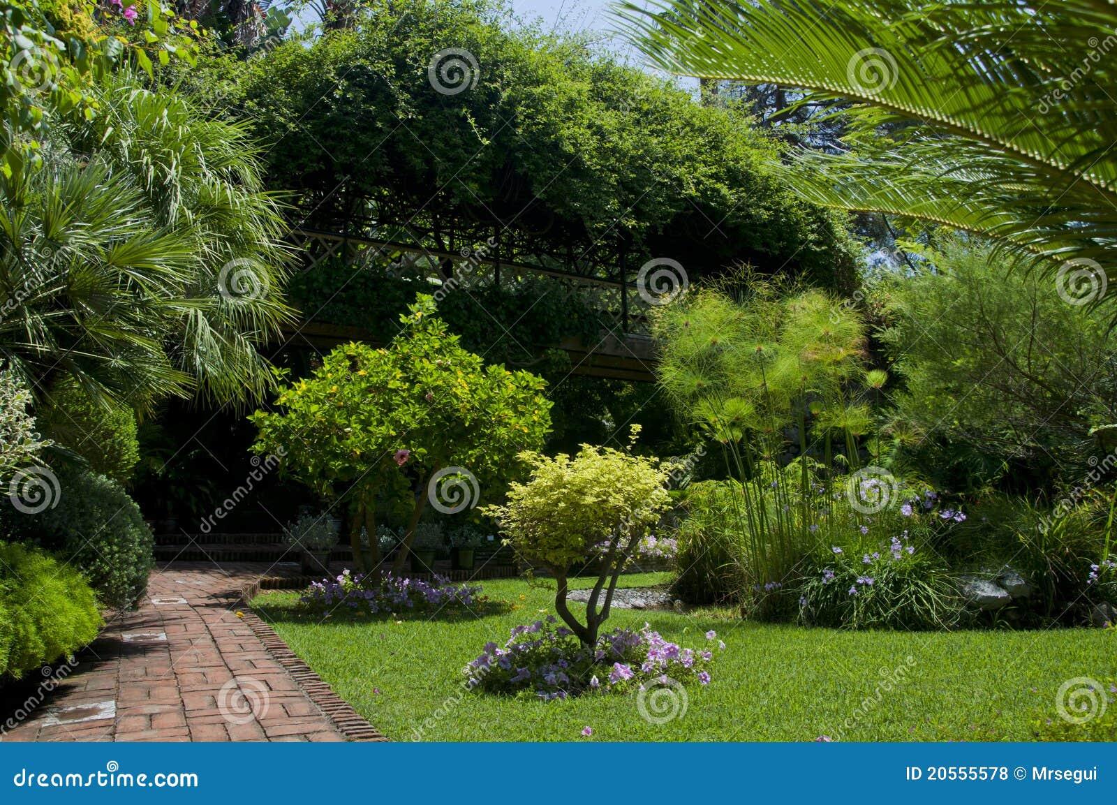 Botanical Garden Royalty Free Stock Photos Image 20555578
