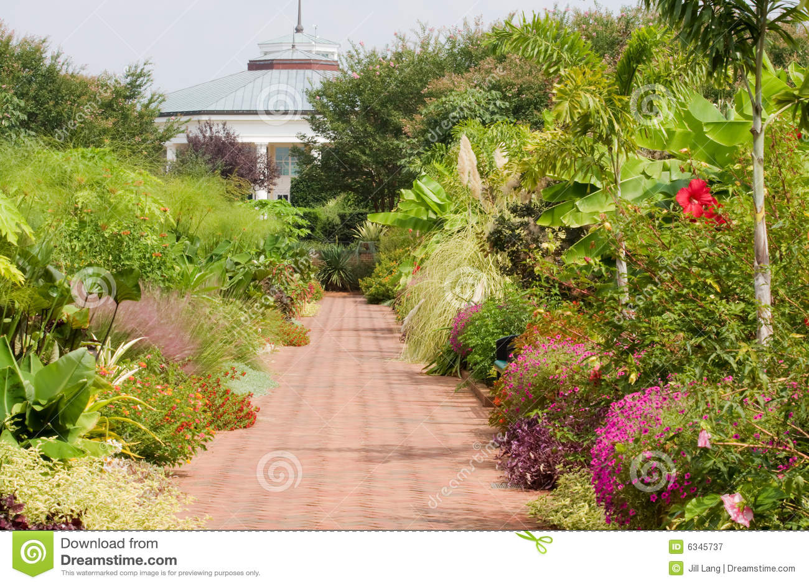 Botanical Garden Royalty Free Stock Photography Image 6345737