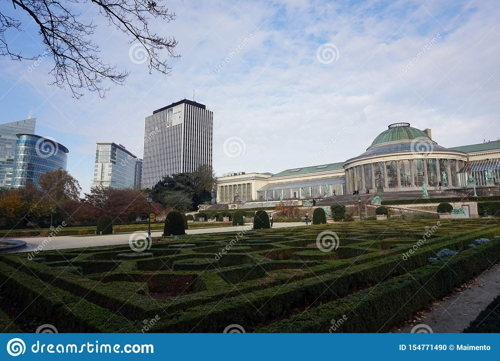 The Botanical Garden of Brussels