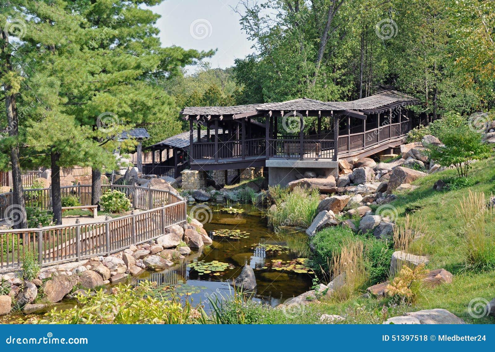 Botanical Garden In Madison Wisconsin Stock Photo Image 51397518