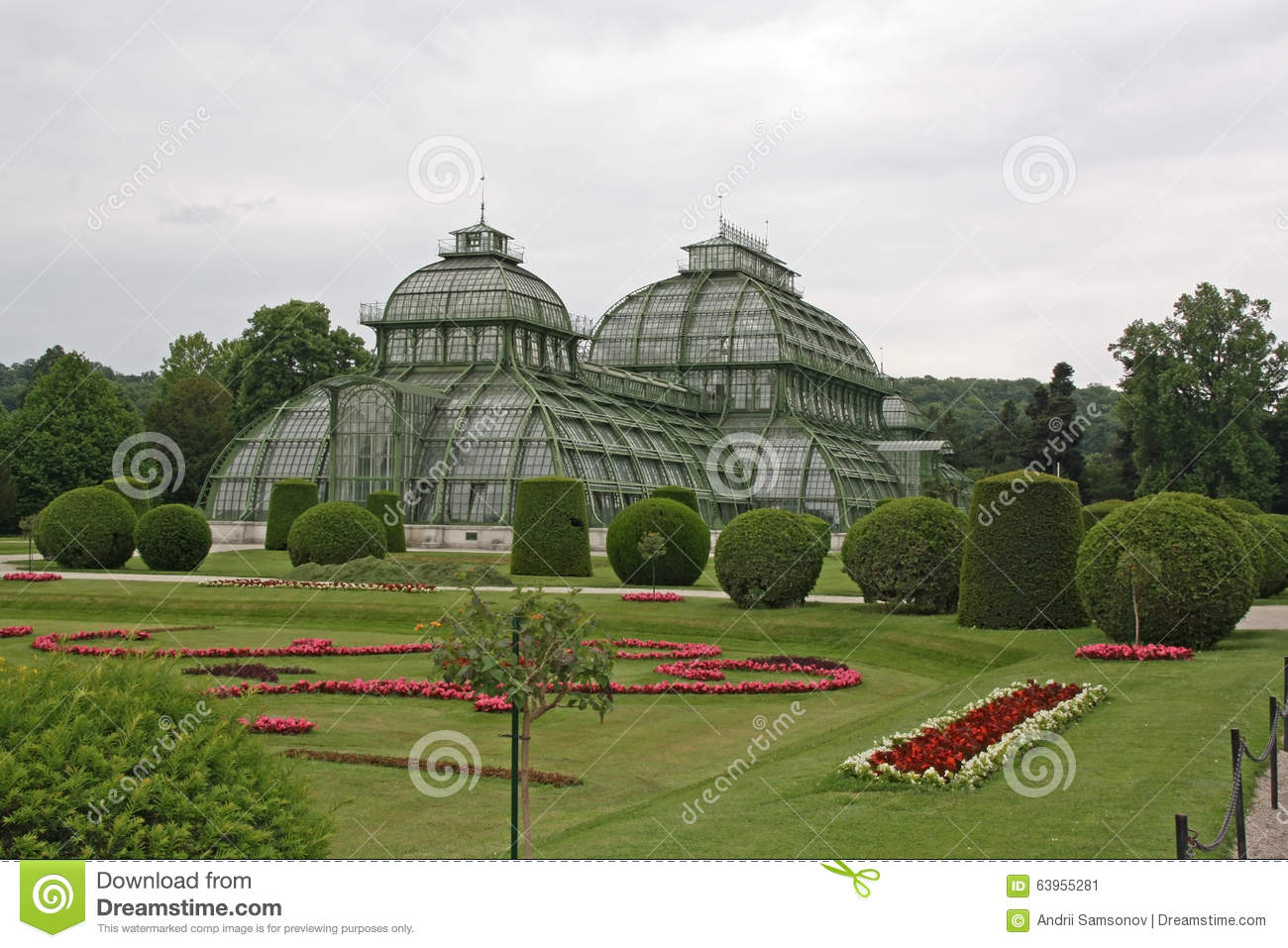Botanical garden near schonbrunn palace in vienna stock photo image 63955281 for What time does the botanical gardens close