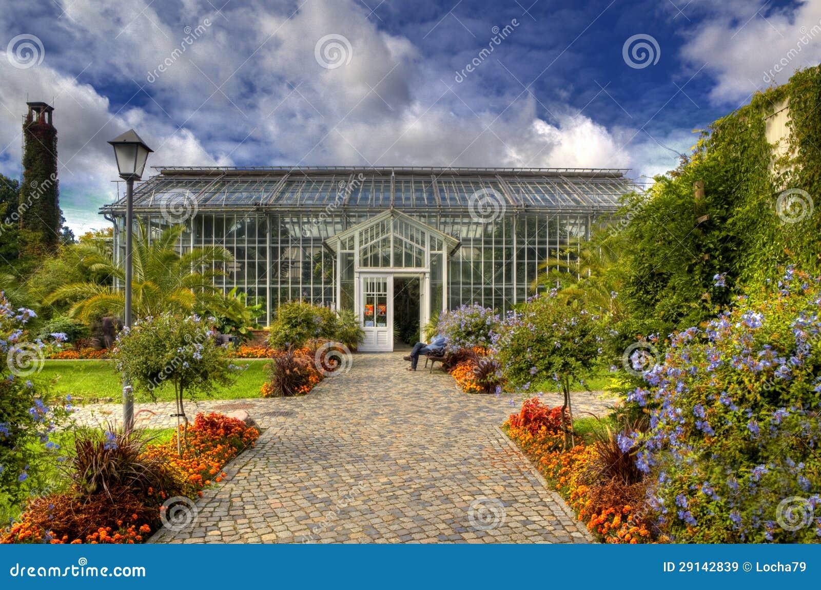 Botanical Garden In Sanssouci Park Potsdam Stock Image Image Of