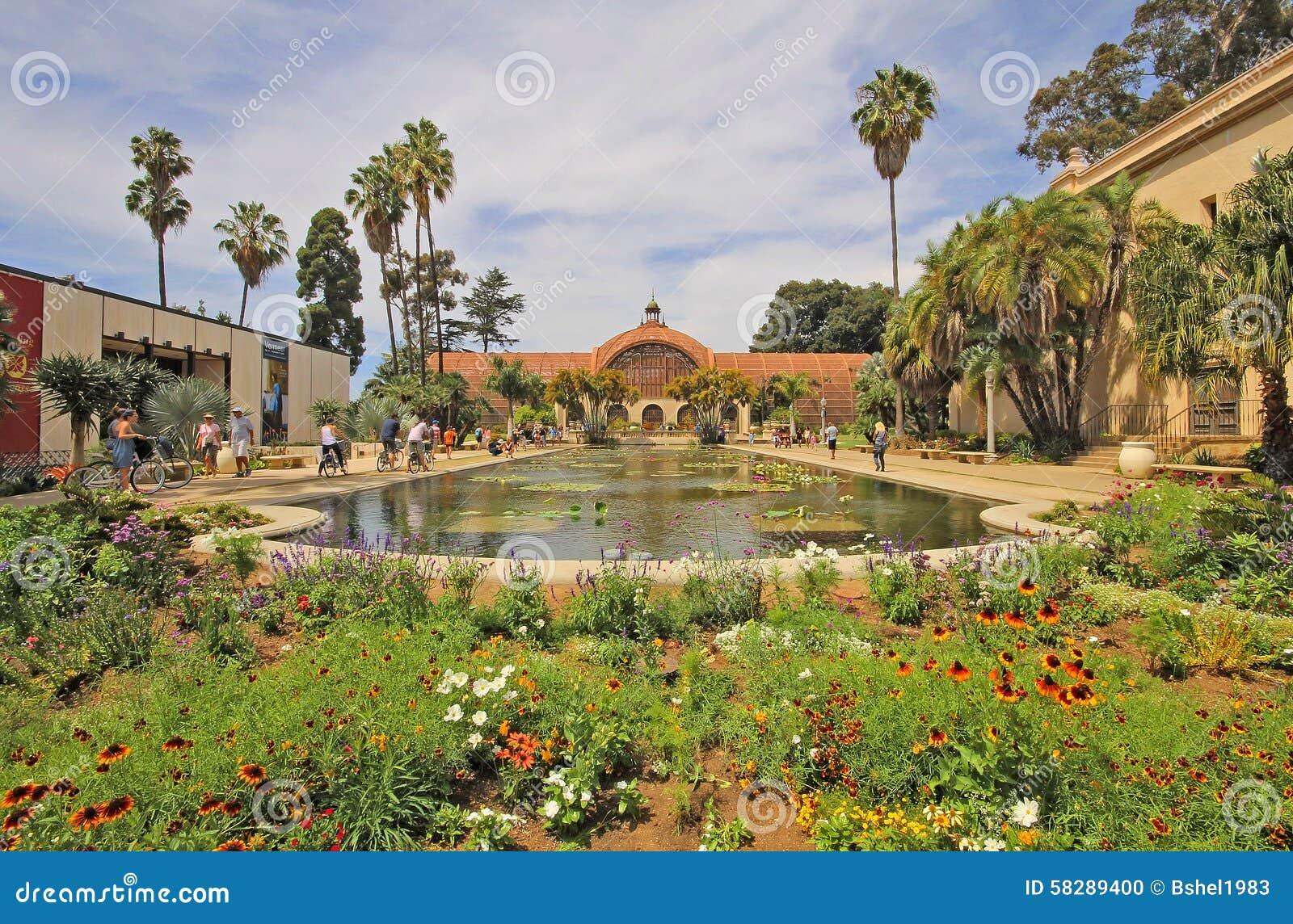 Botanical Gardens Balboa Park San Diego Editorial Image Image 58289400
