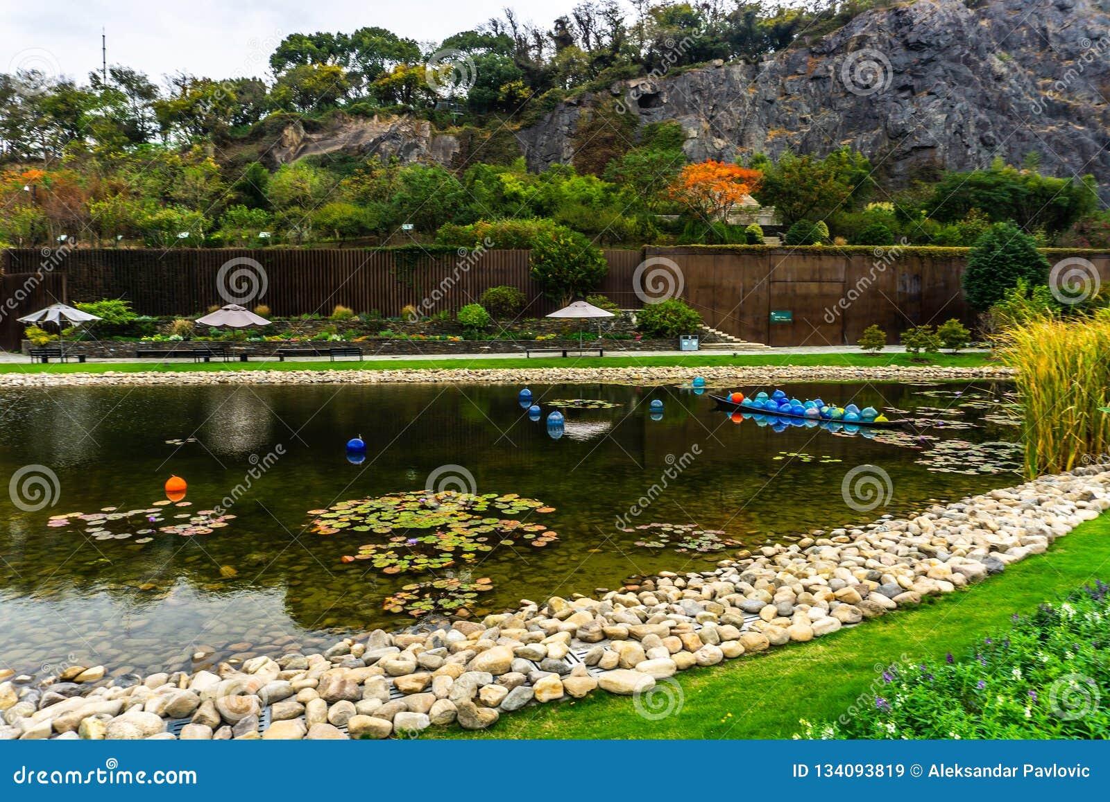 Botanische Tuin 13 van China Shanghai