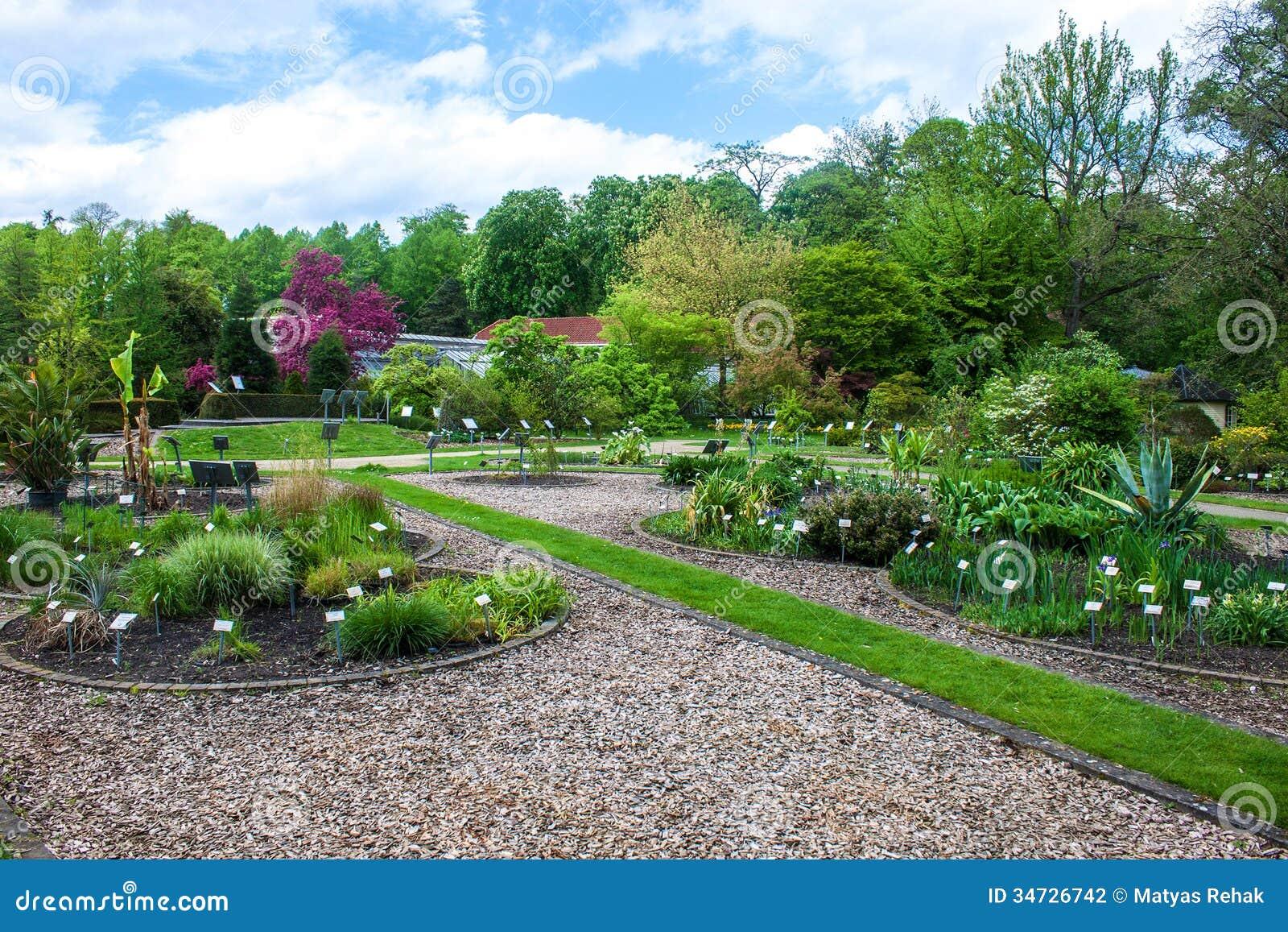 Botanischer Garten In Muenster Stockfoto Bild Von Park Betrieb