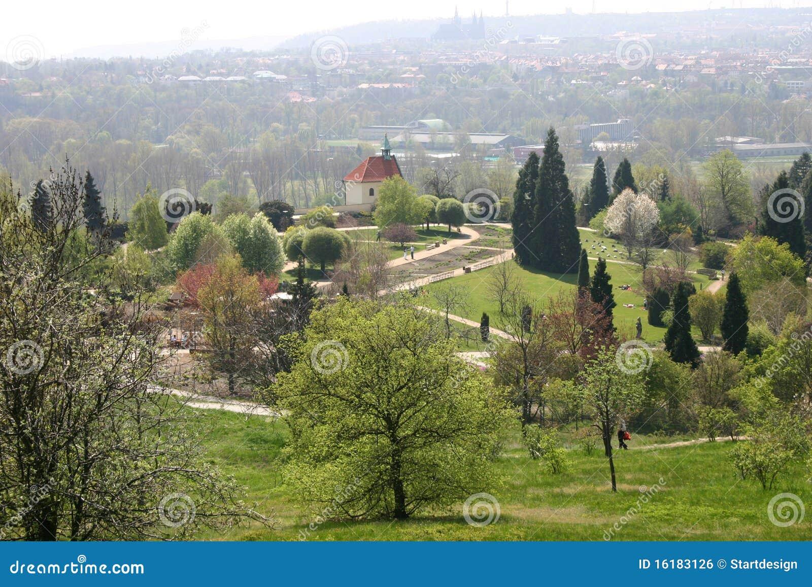 Botanischer Garten, Prag, Tschechische Republik