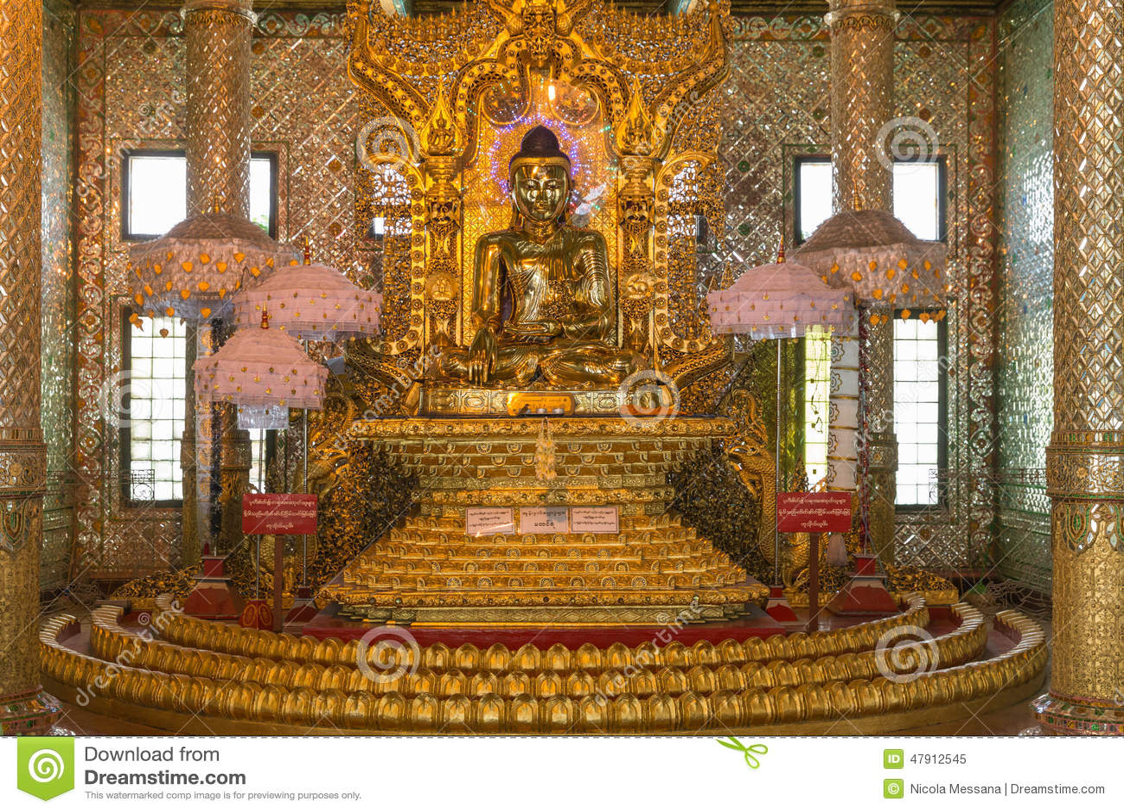 Botataungs-Pagode, Rangun, Myanmar