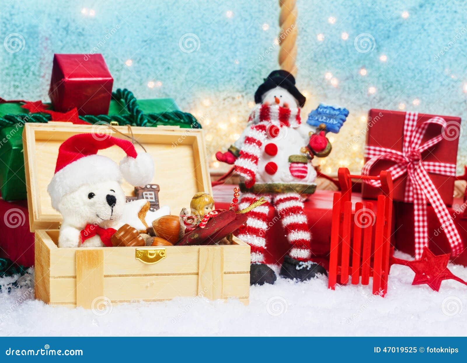 Boîte De Cadeau Le Jour De Noël Clip Art: Boîte De Cadeaux, Surprise Pour Noël Photo Stock