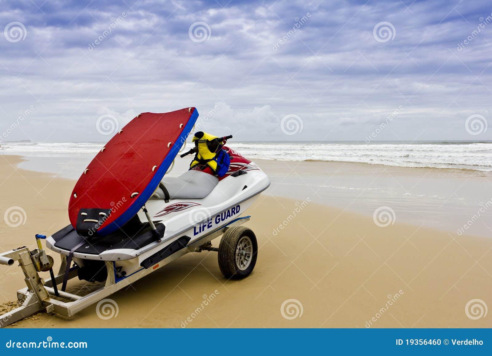 Bote de salvamento do Lifeguard - mares tormentosos