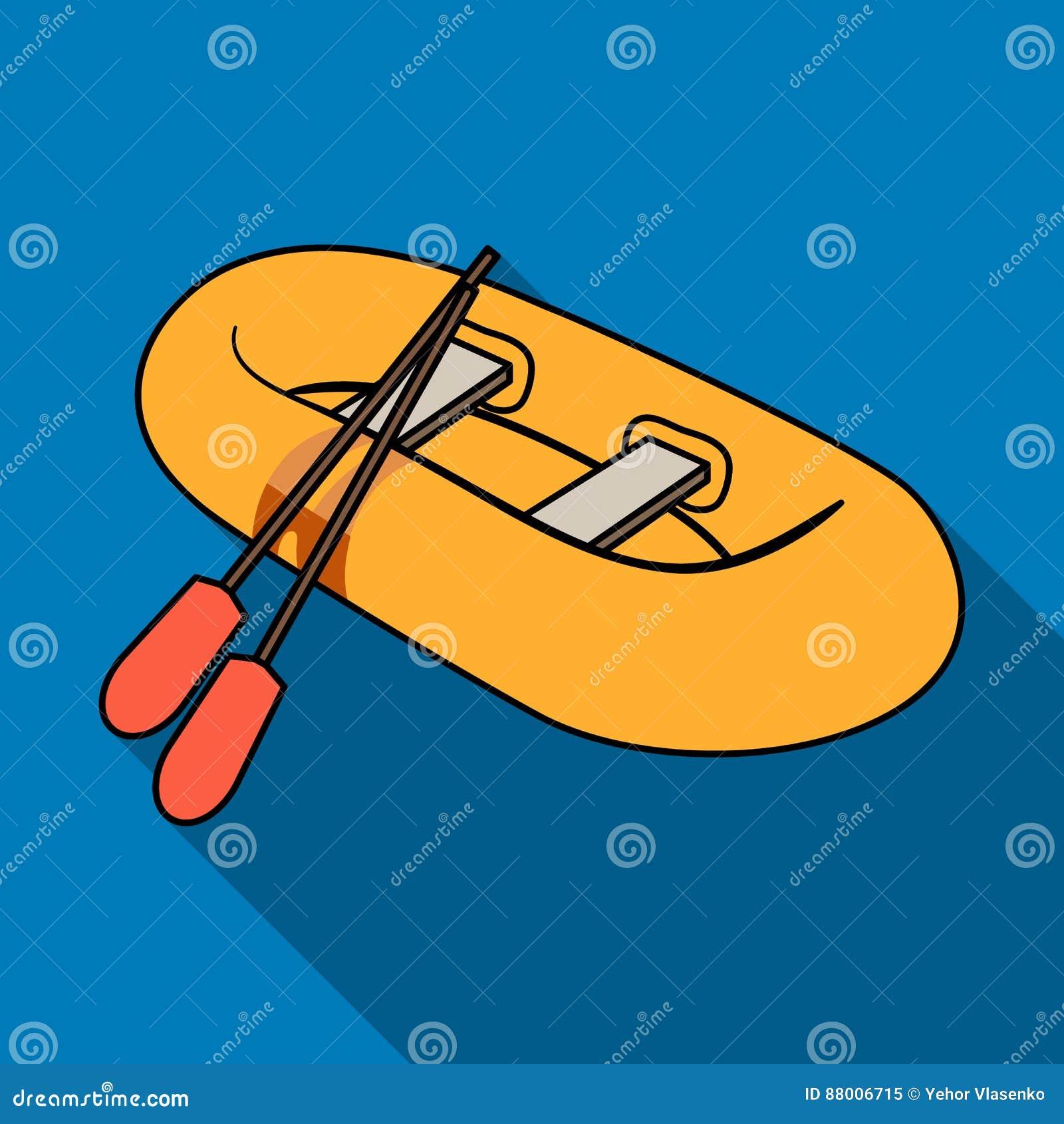 Bote salvavidas de goma anaranjado El barco, que pesa en los lados de los barcos grandes para el rescate Transporte de la nave y