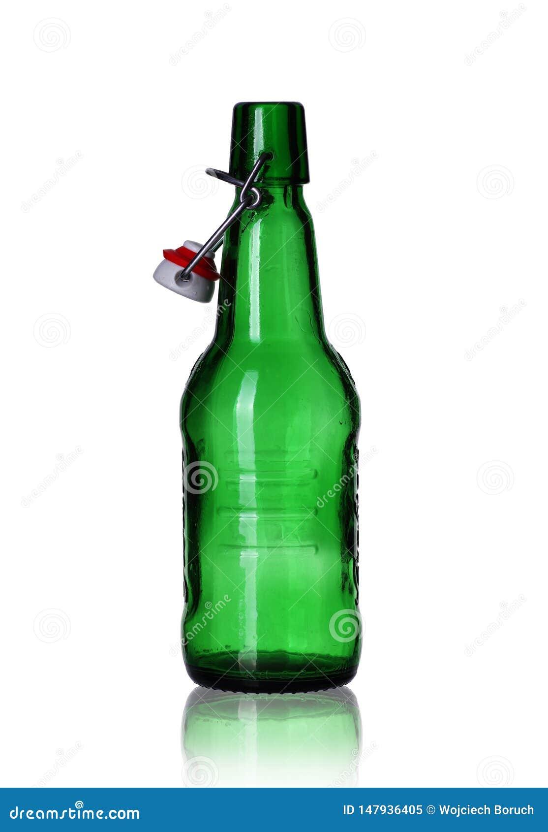 Botella de cerveza vac?a