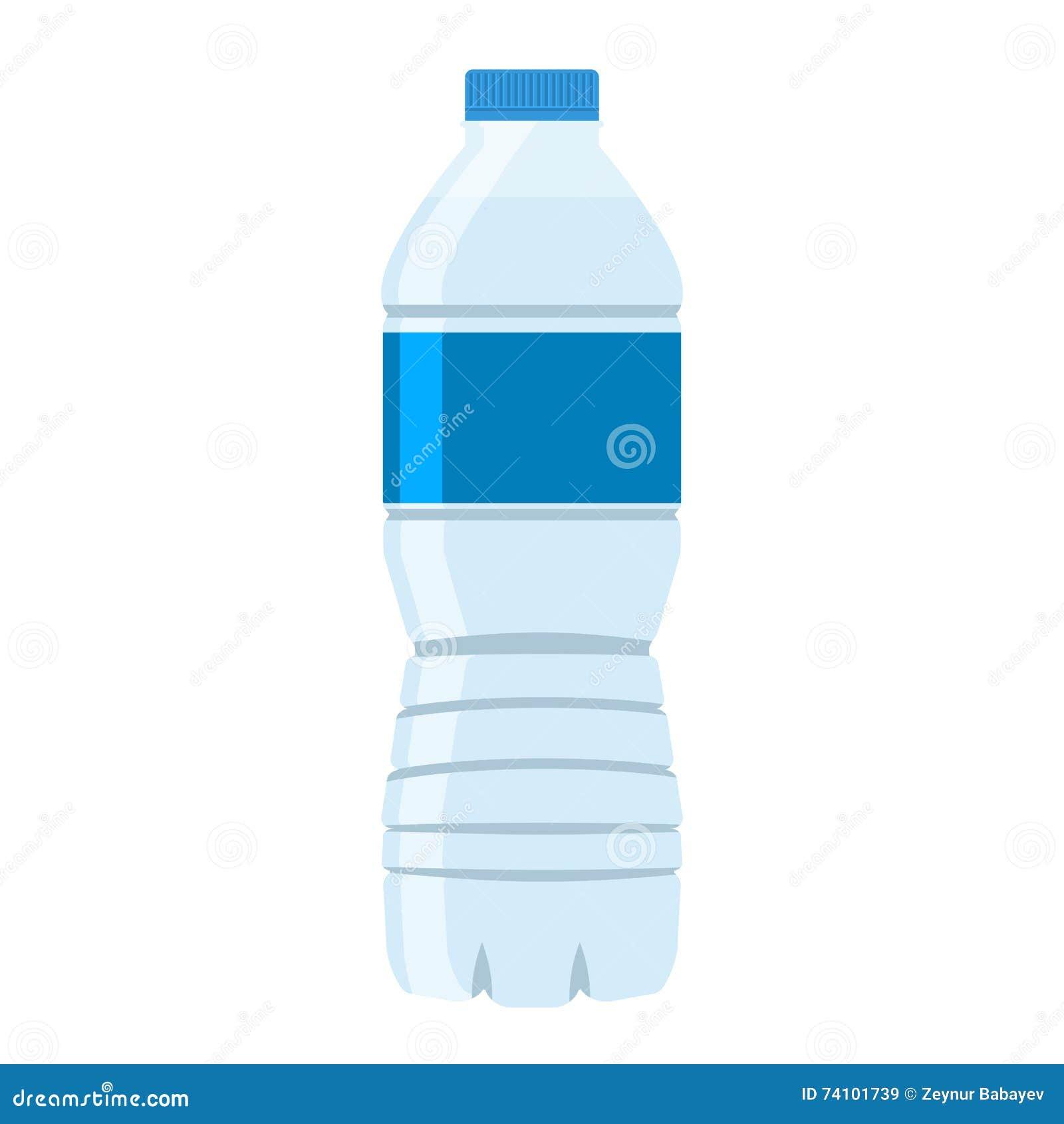 Flat Plastic Drink Bottles