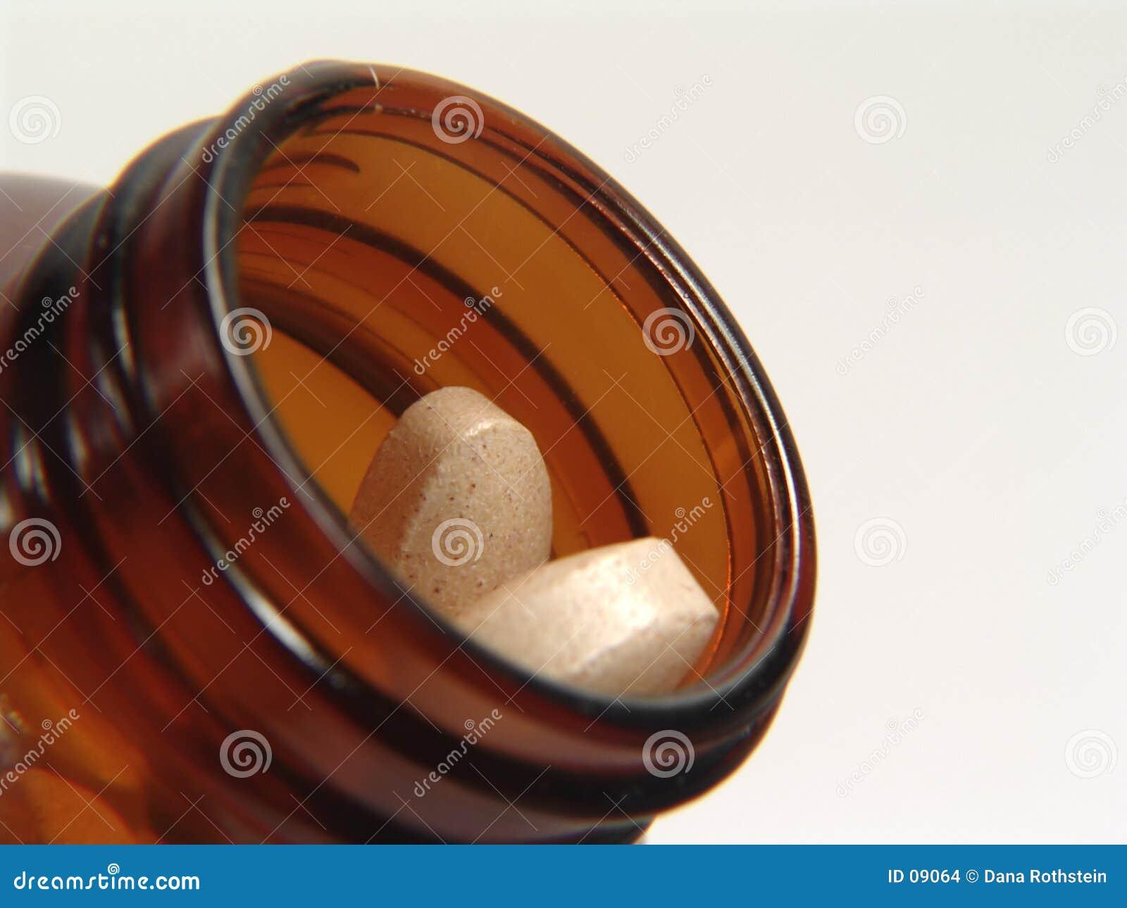Botella de la vitamina