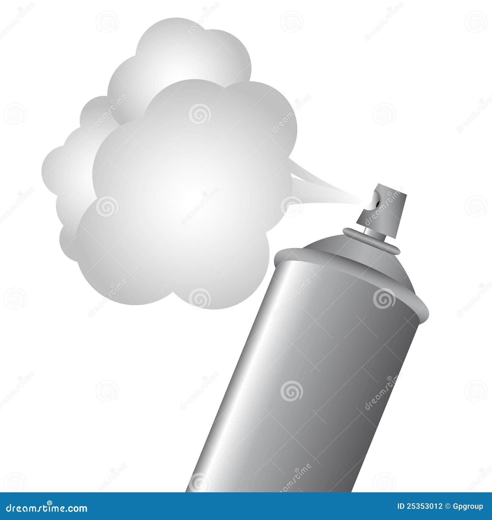 Botella del aerosol