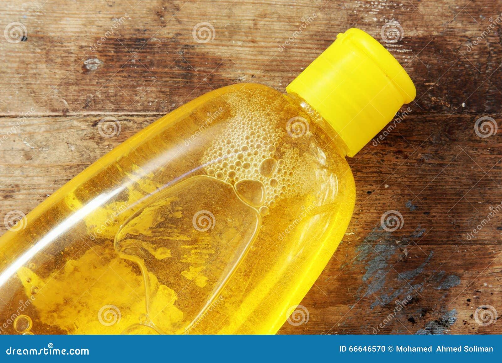 Botella del champú del bebé