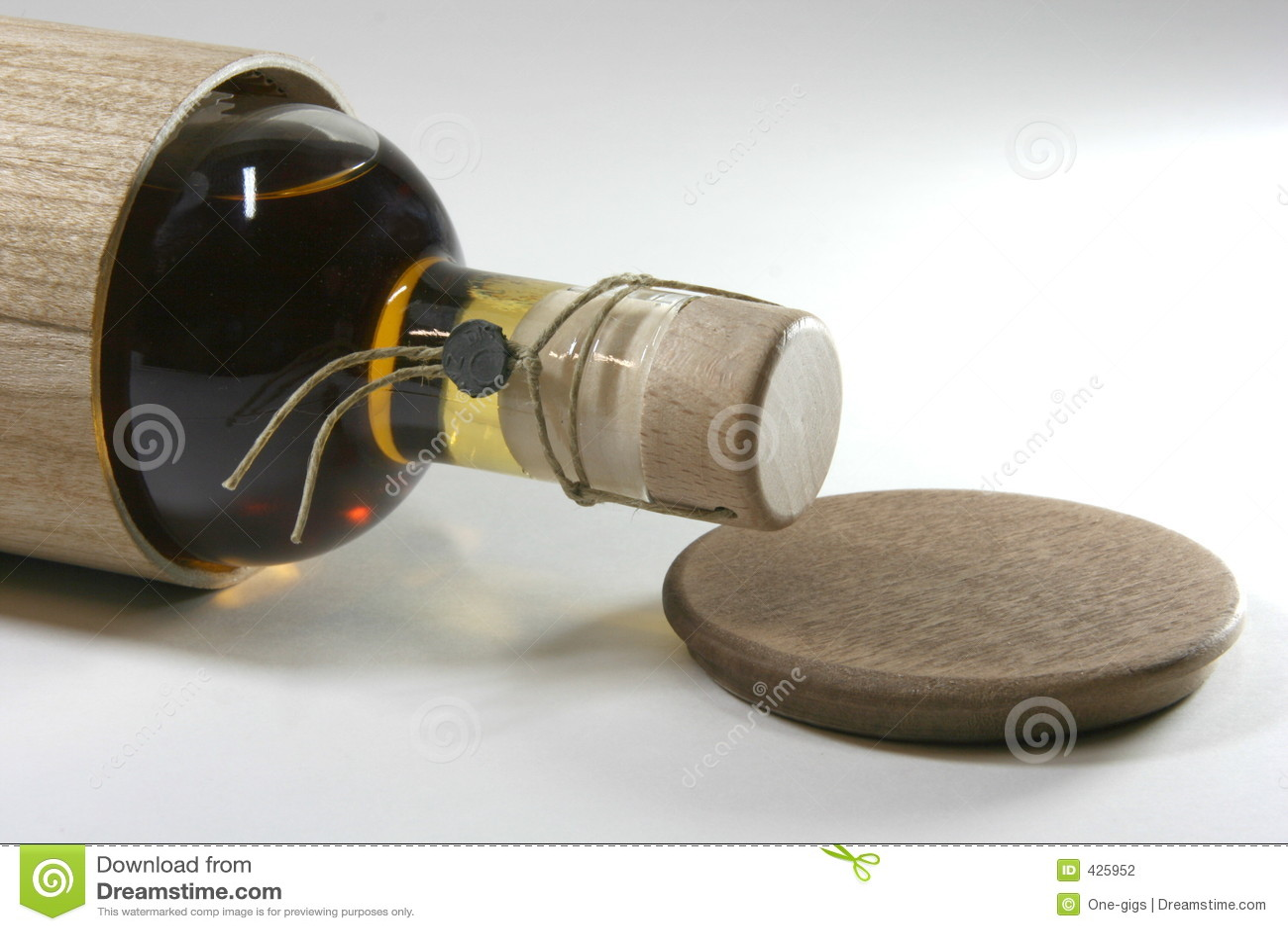 Botella del primer