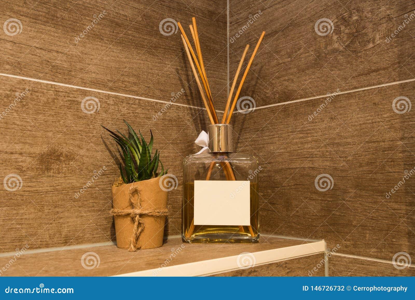 Botella del refresco del aire, hogar de la botella del difusor de la caña del aroma, palillos de la fragancia