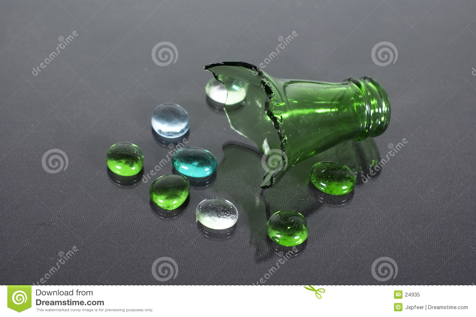 Botella quebrada