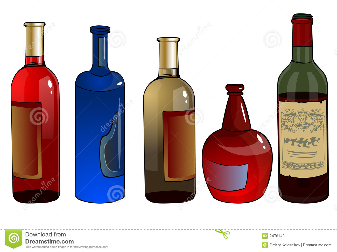 Botellas Con Alcohol