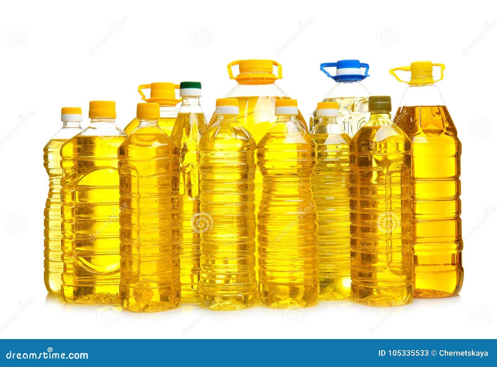 Botellas de aceite de cocina,