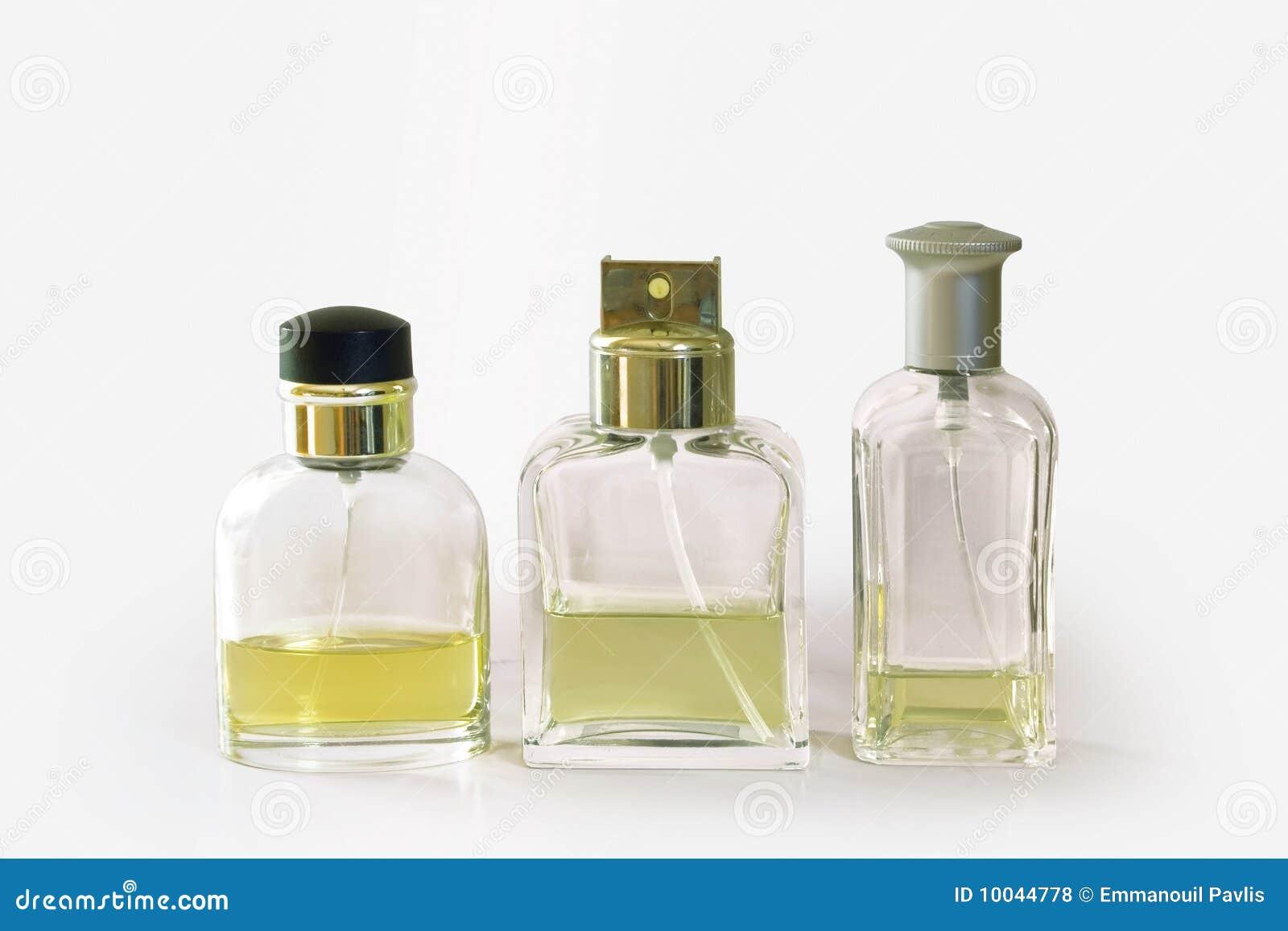 Botellas de la fragancia