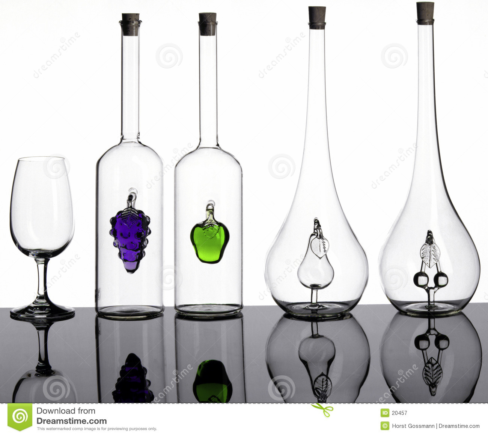 Botellas y vidrio
