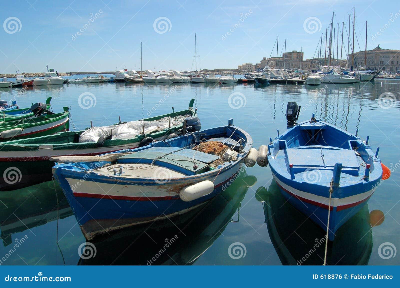 Boten die wachten te varen