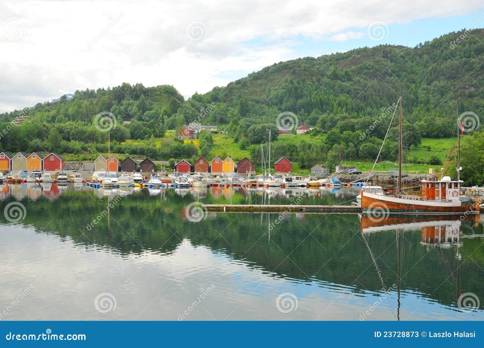 Botenhuis in Noorwegen