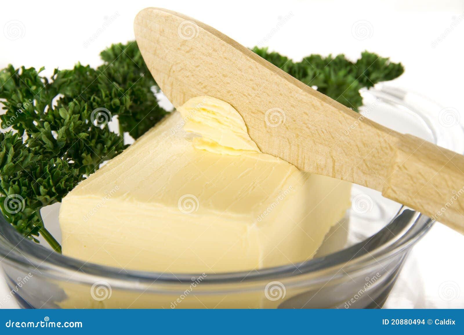 Boter met mes