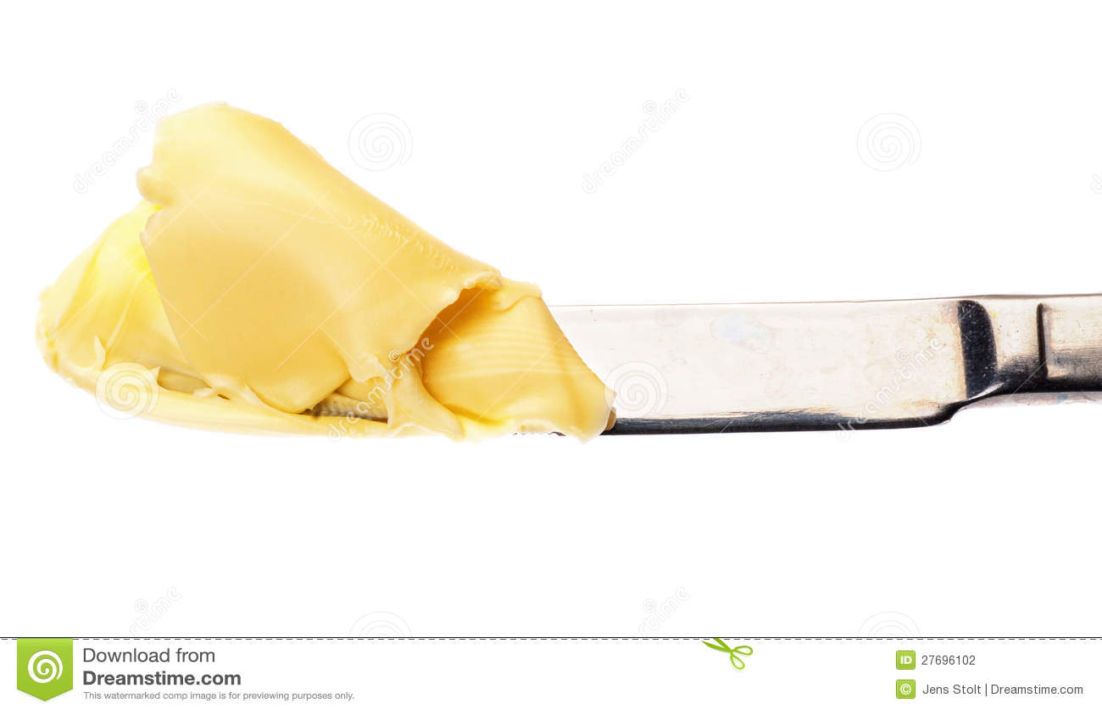 Boter op een mes