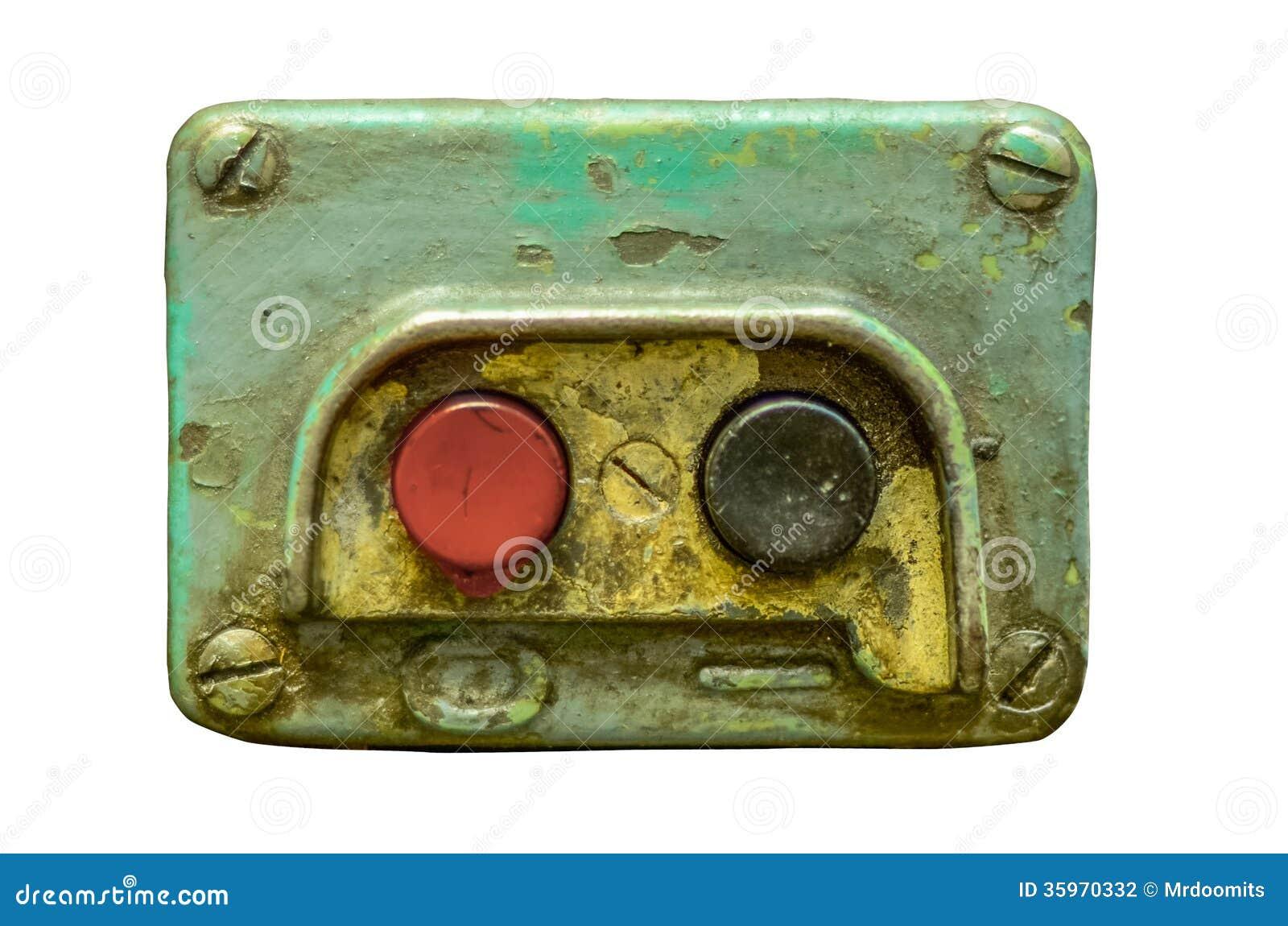 Botones de encendido industriales