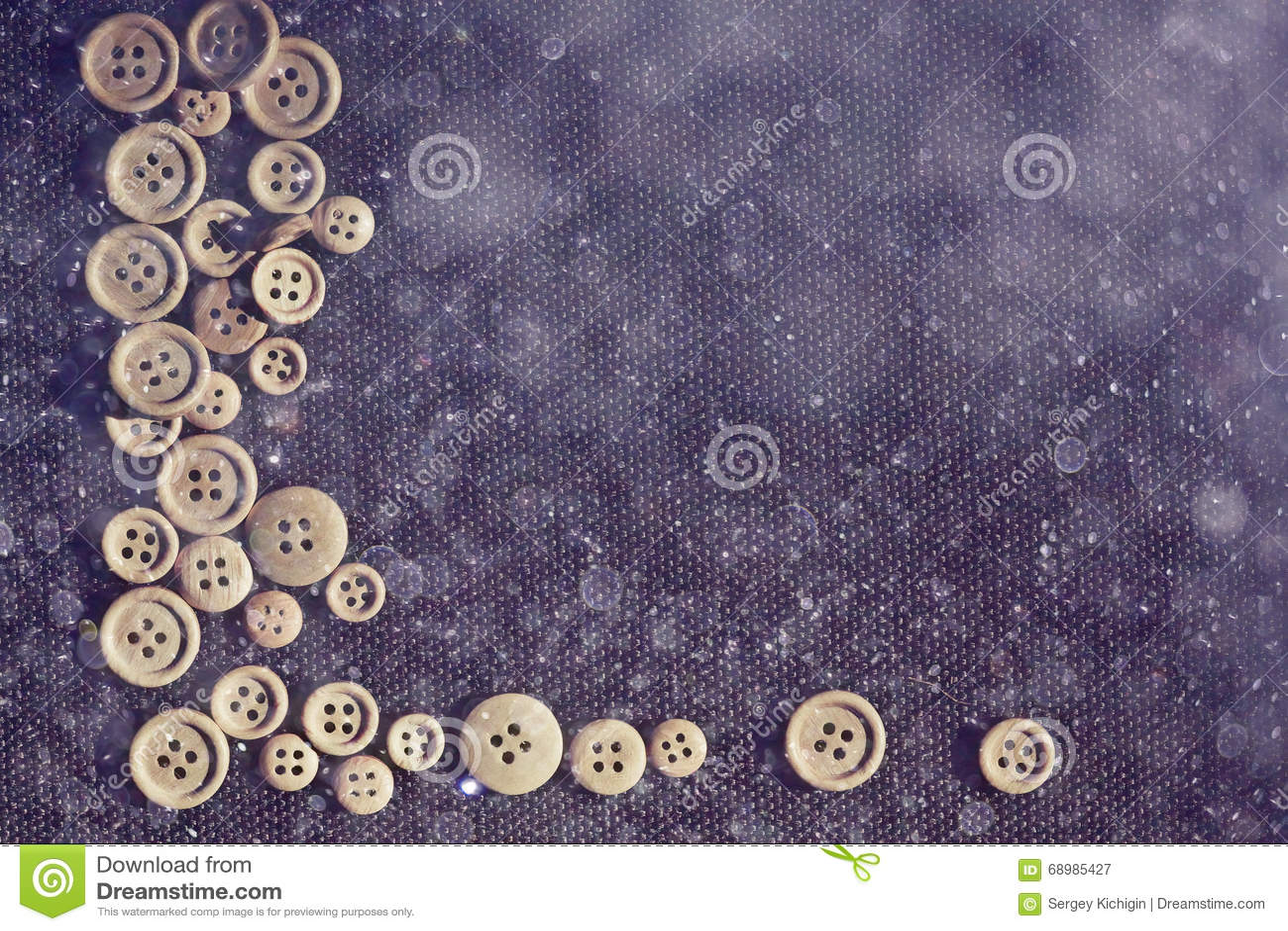 Botones de madera del fondo