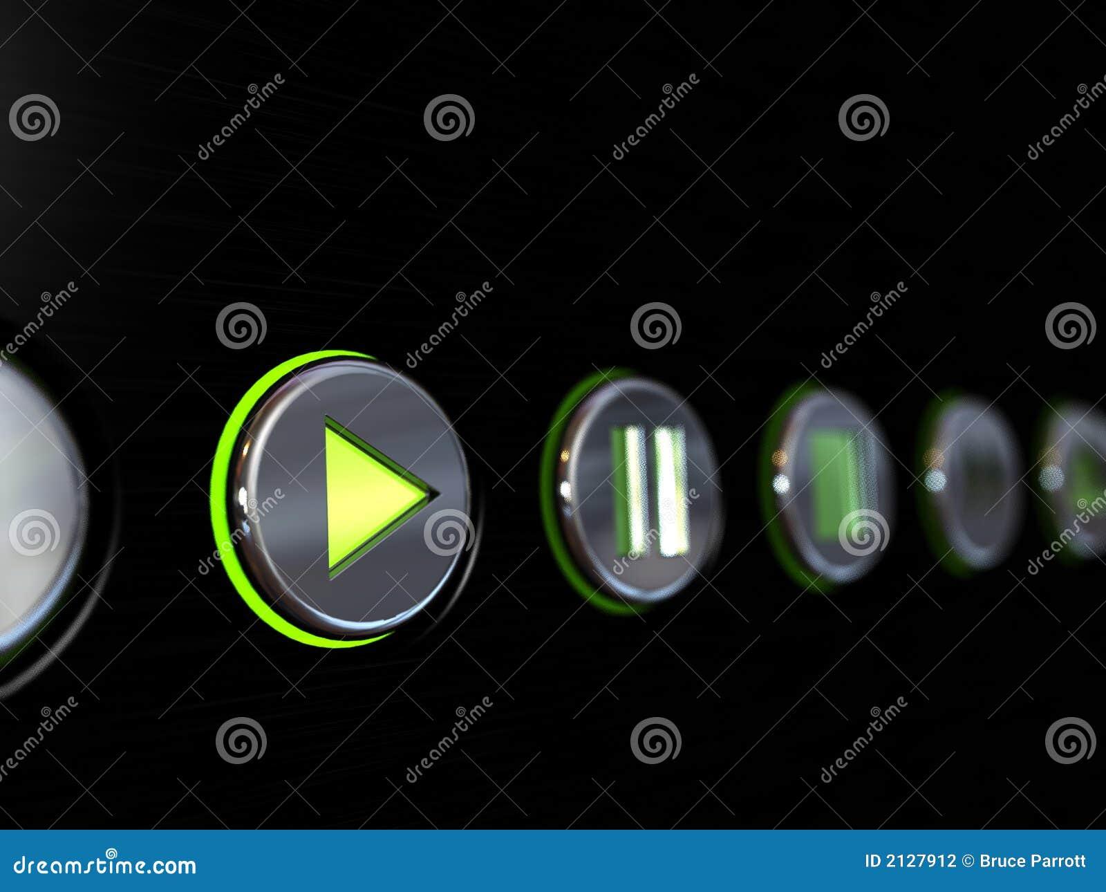 Botones del reproductor multimedia