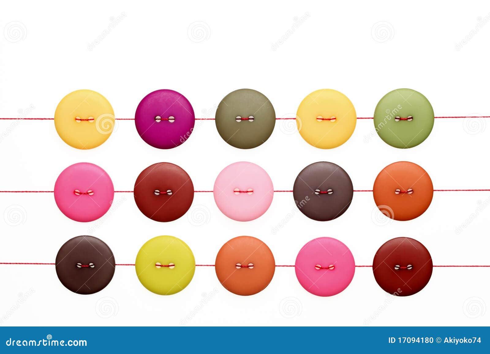 Botones y cuerdas de rosca