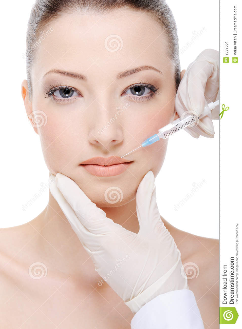 BOTOX® giving injection