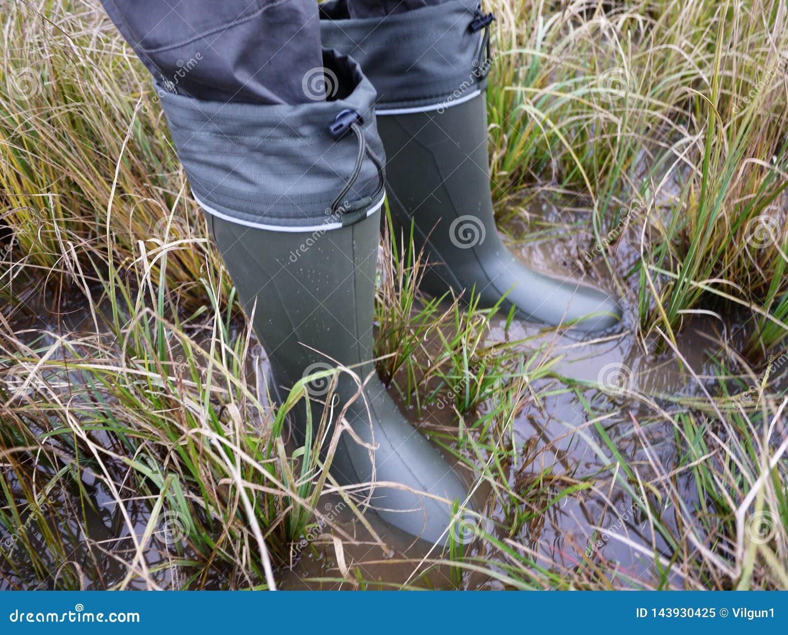 Bottes pour le chasseur et le pêcheur Approprié à la chasse et à la pêche, pour le voyage extérieur details