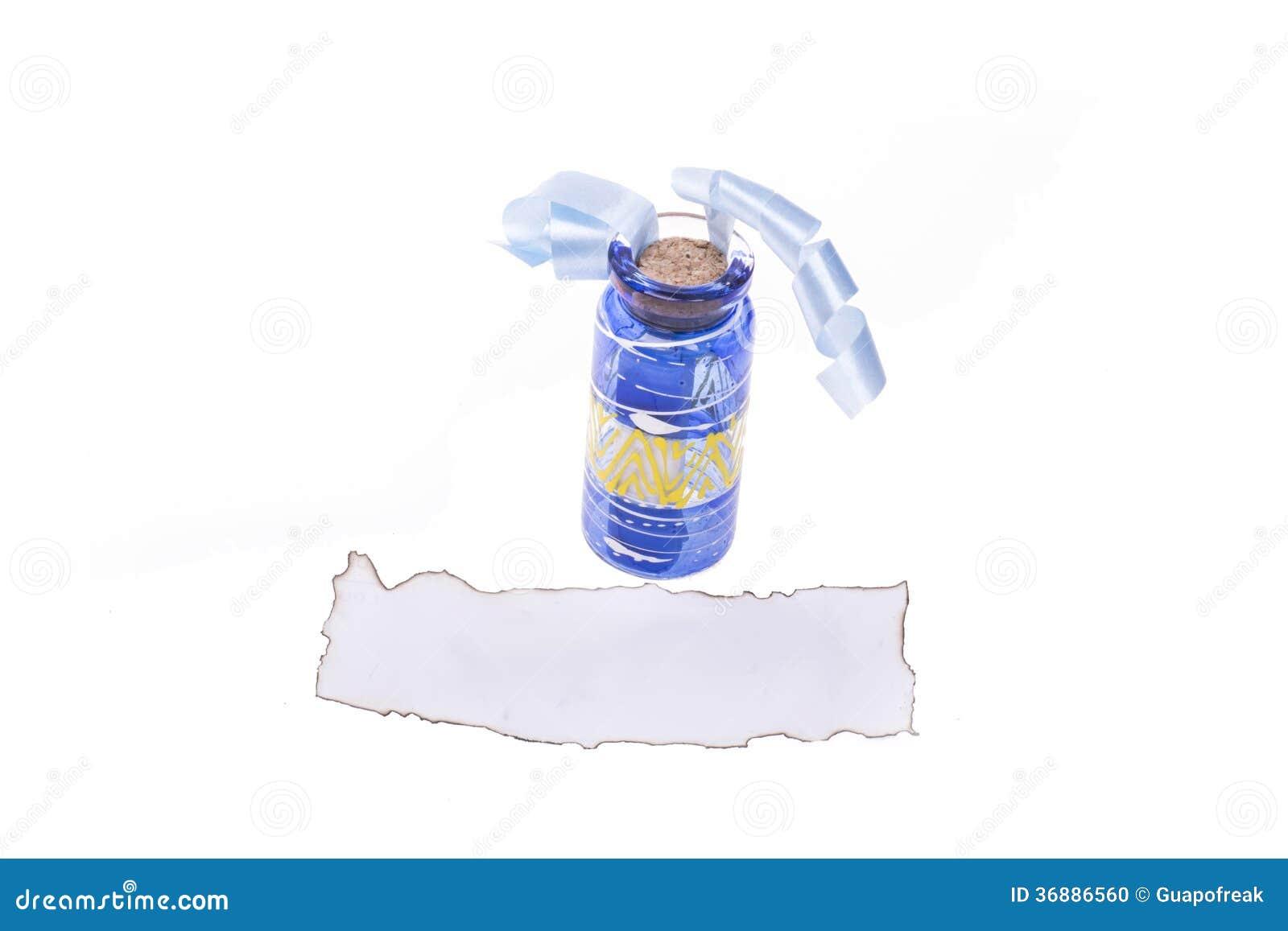 Download Bottiglia di fortuna fotografia stock. Immagine di lottery - 36886560