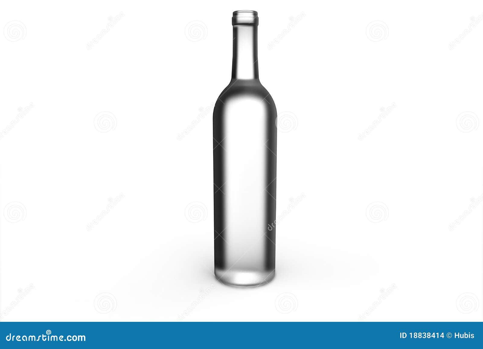 Bottiglia di vetro trasparente immagini stock immagine for Botole per tetti prezzi