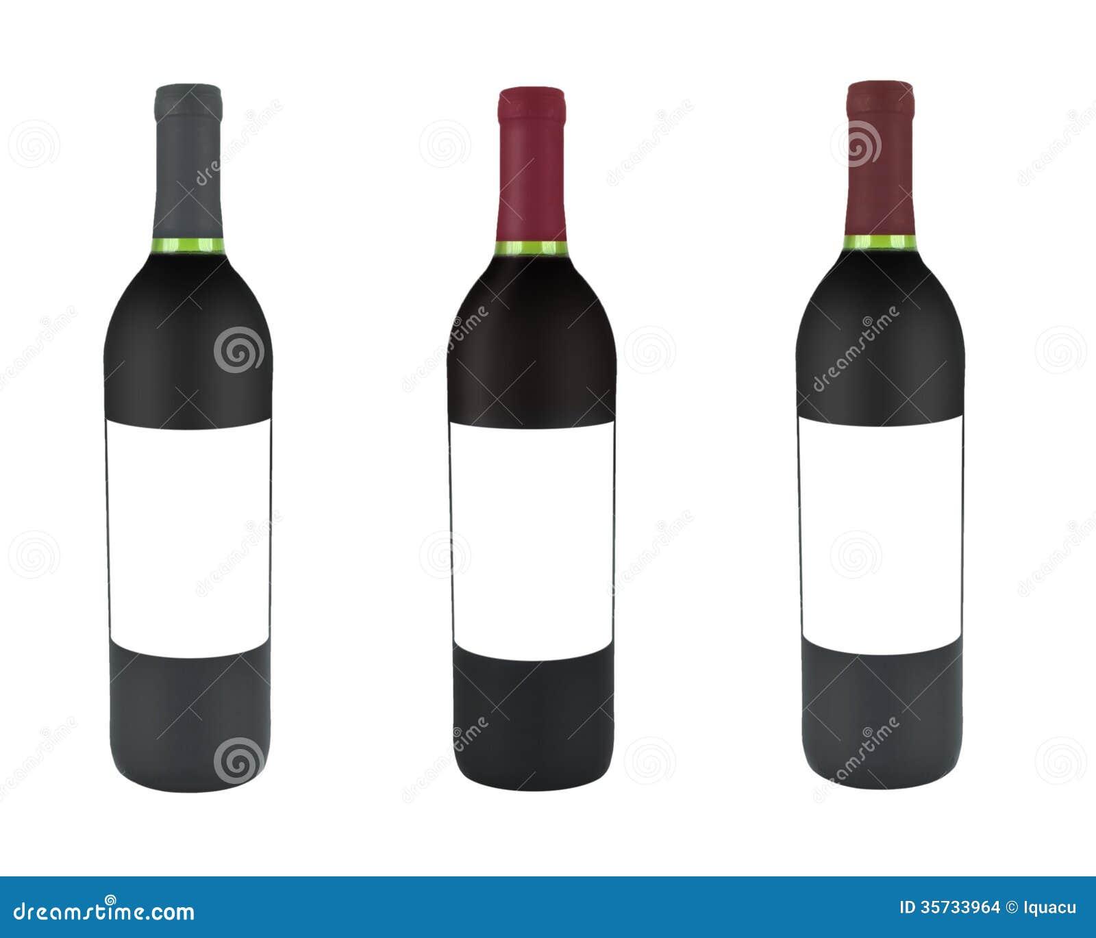 Bottiglia Di Vino Fotografia Stock Immagine Di Isolato