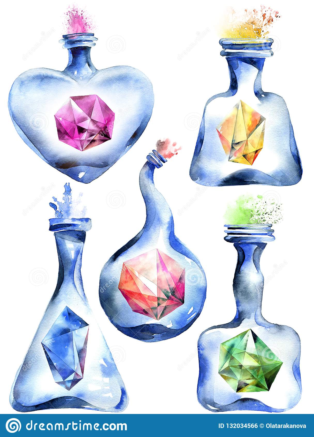 Bottiglia magica Alchemical